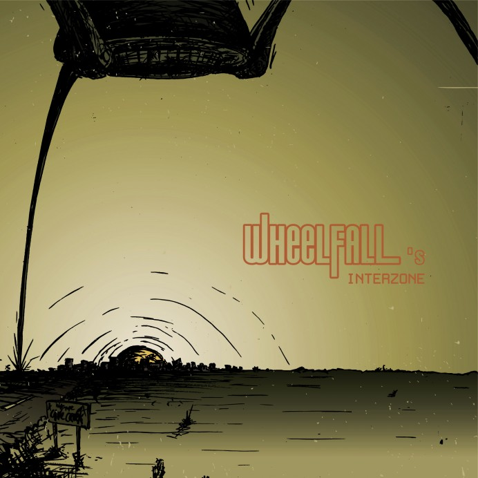 Wheelfall Interzone CD Cover 2012