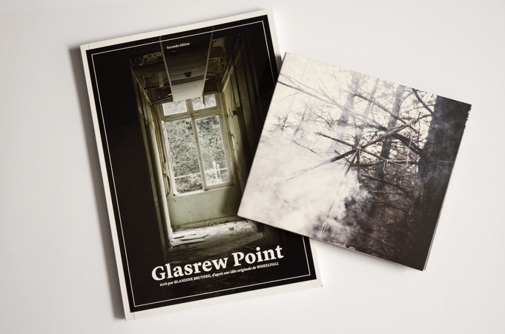 Wheelfall's Glasrew Point double album and novel